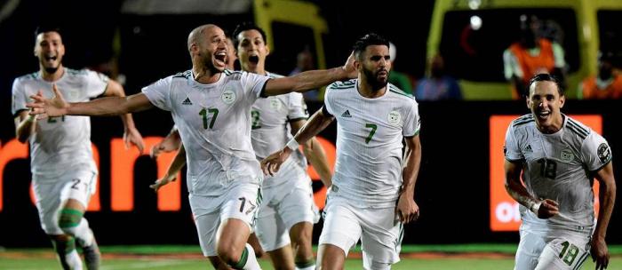 CAN 2019:  l'Algérie en finale après son succès 2-1 contre le Nigéria