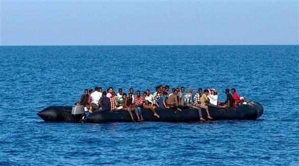 إنقاذ 53 مهاجراً قبالة سواحل صبراتة الليبية
