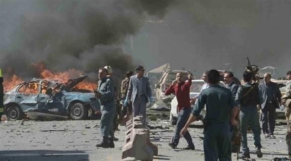 مقتل 6 من طالبان في انفجار سيارة مفخخة أثناء إعدادها