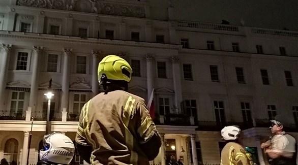 البحرين توضح ما حصل بشأن التعدي على مبنى سفارتها في بريطانيا