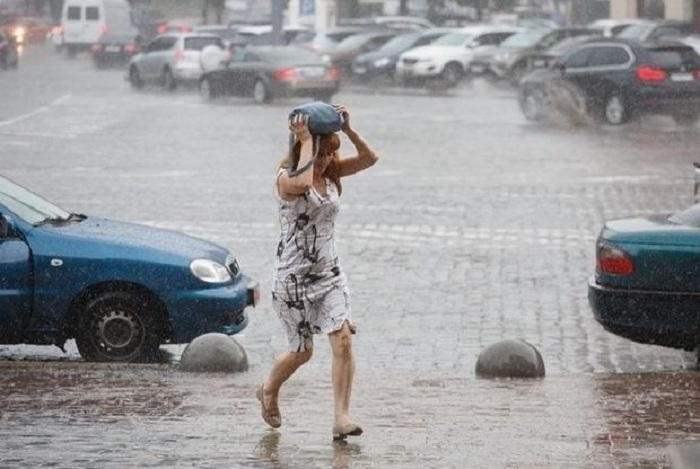 Yağış, leysan, dolu - Bu günün havası