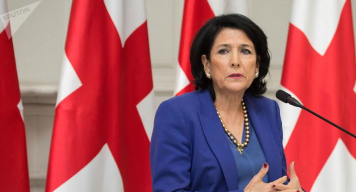 Gürcüstan prezidenti Rusiyaya müraciət etdi