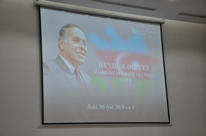 """""""Heydər Əliyev: Azərbaycana həsr olunmuş ömür"""""""