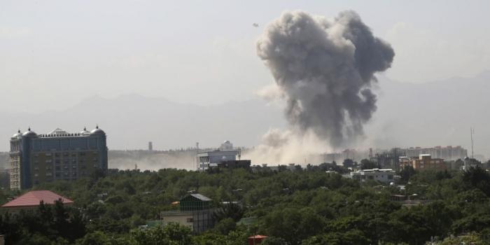 Powerful explosion rocks Afghan capital, near US Embassy