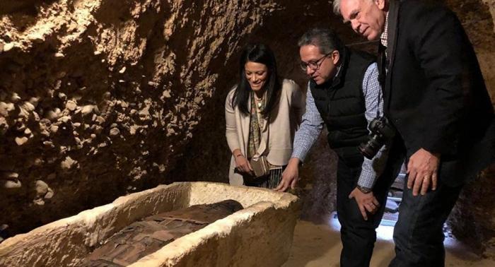 """بالصور.. مصر تعلن عن اكتشاف أثري """"رائع"""""""