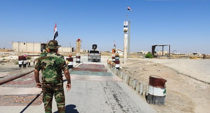 بالفيديو... ملازم سوري يتصرف باحترام كبير أمام لواء عراقي