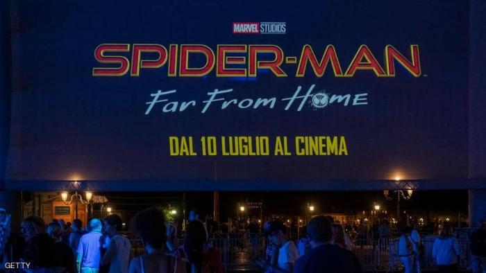 سبايدرمان: بعيدا عن الوطن يتصدر شباك السينما الأميركية