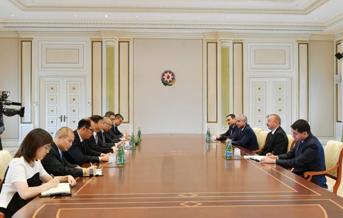 الرئيس يستقبل المسؤولين الصينيين(تم التحديث)