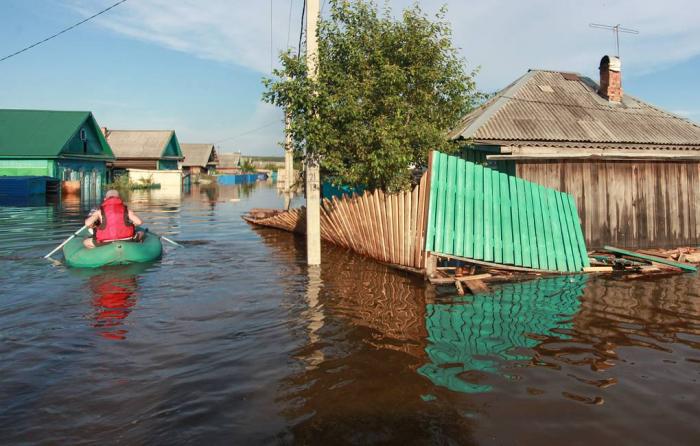Rusiyada təbii fəlakət: 153 nəfər xəstəxanaya yerləşdirilib