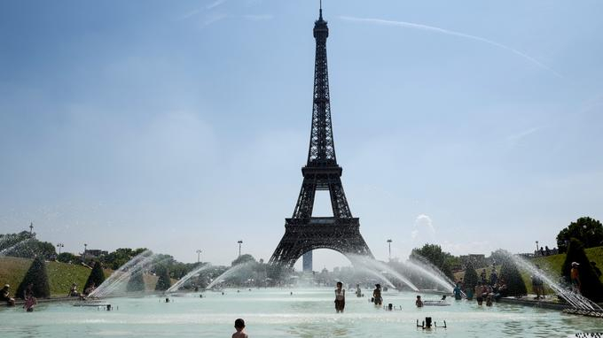 Paris active son plan canicule niveau 3