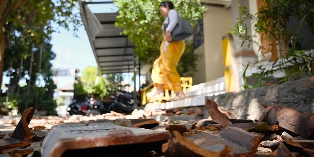 Bali:   un séisme provoque un début de panique et des dégâts mineurs