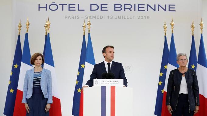 Emmanuel Macron annonce la création d