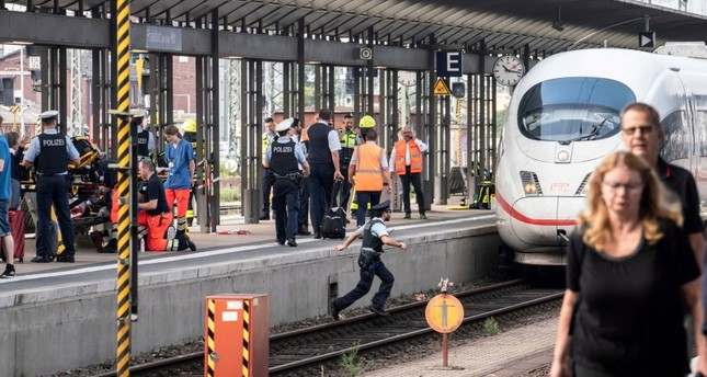 Boy killed after being pushed into path of train in Germany