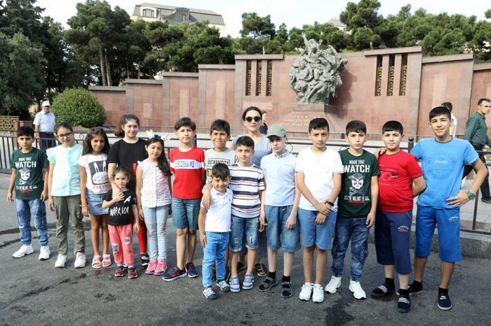 Şəhid uşaqları üçün yay düşərgəsi təşkil edilib
