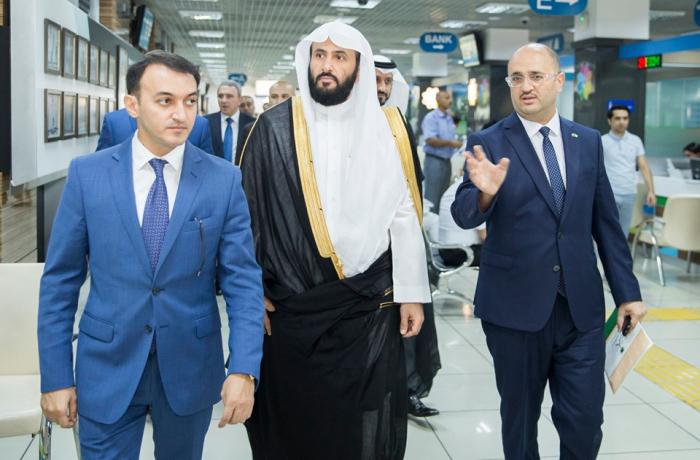 Saudi Arabian justice minister visits