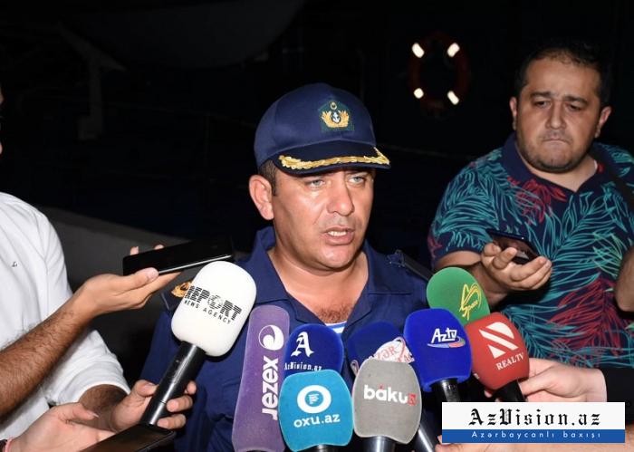 İranlı dənizçiləri xilas edən gəminin komandiri - VİDEO