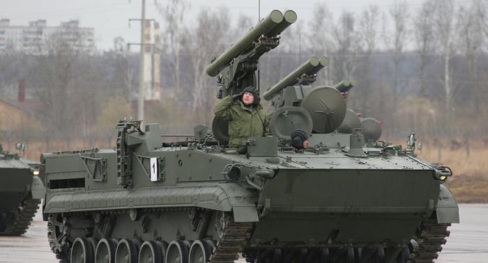 """""""الأقحوانة"""" الروسية تدمر أي دبابة"""