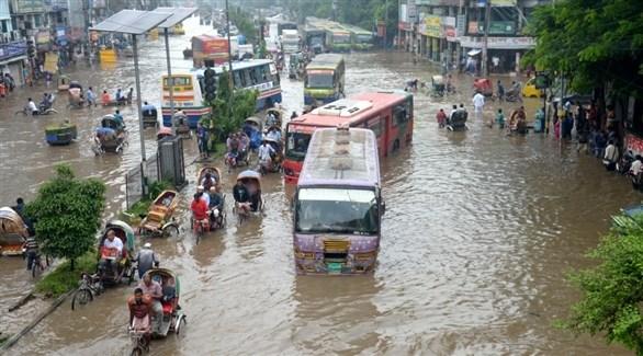 وفاة 200 شخص ونزوح الملايين في جنوب آسيا بسبب الأمطار