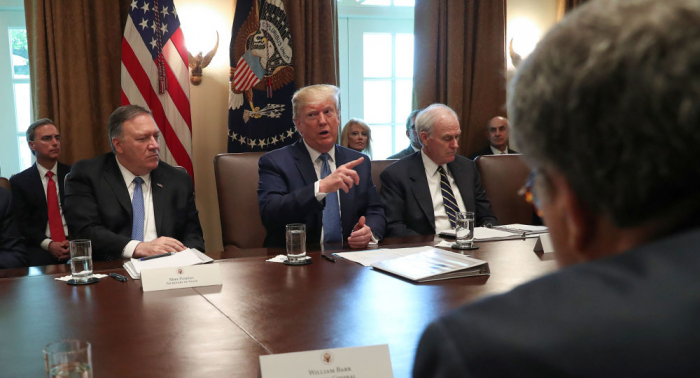وكالة: ترامب يبحث مع رؤساء شركات طيران اتهامات تتعلق بالدعم القطري والإماراتي