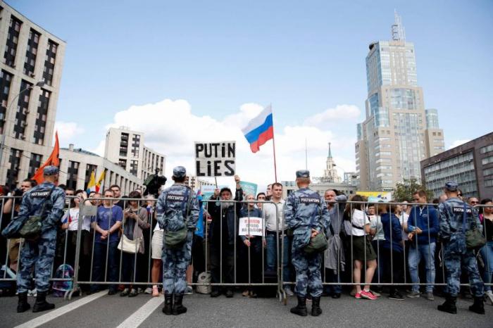 Plus de 10.000 manifestants à Moscou pour réclamer des élections locales libres