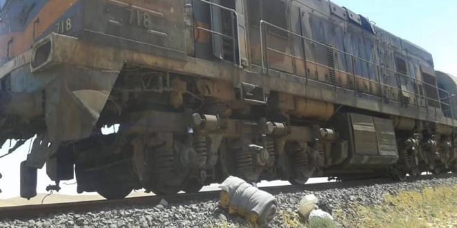 Syrie: un train transportant du phosphate cible d