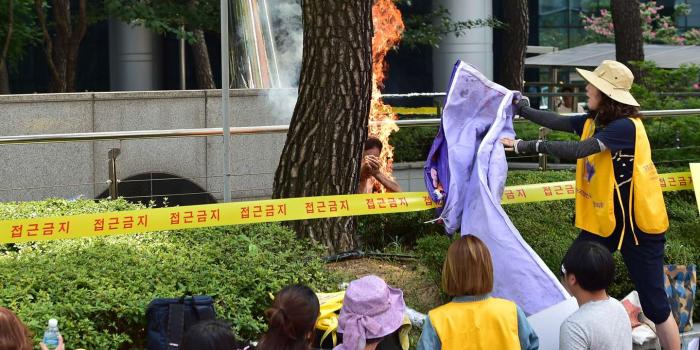 Séoul: un Sud-Coréen s