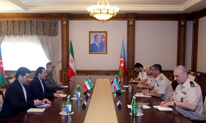 Azərbaycan-İran hərbi əməkdaşlığı müzakirə olunub