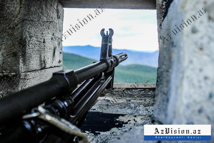 Ermənistan tərəfi iyulda atəşkəsi 262 dəfə pozub