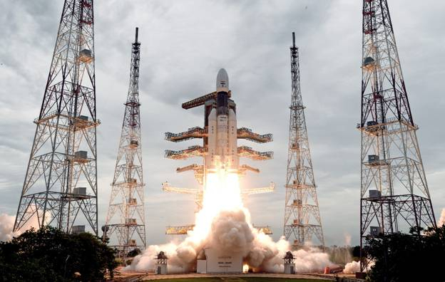 India launches its second Moon Mission