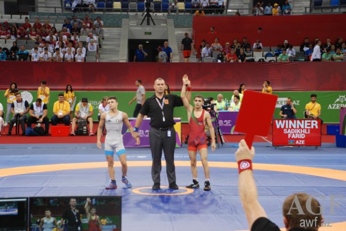 EYOF-un ilk günündə güləşçilərimiz 4 medal qazanıb