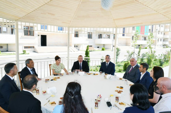 Ilham Aliyev: New apartments, individual houses to be built for over 6,000 IDP families in 2019