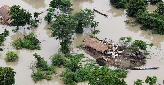 7 killed, 1.5 mln people affected by floods in India