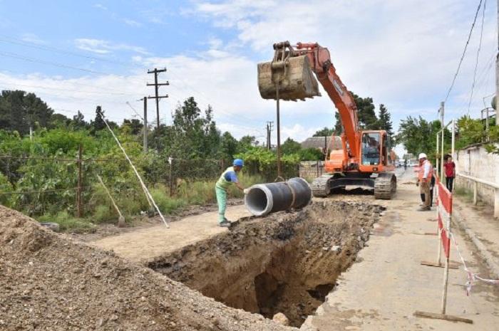 Şirvanın su və kanalizasiya sistemləri yenidən qurulur