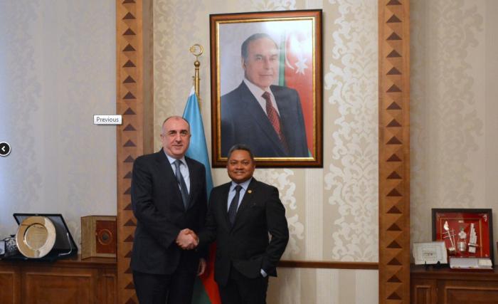 Le chef de la diplomatie azerbaïdjanaise reçoitle nouvel ambassadeur de Malaisie en Azerbaïdjan