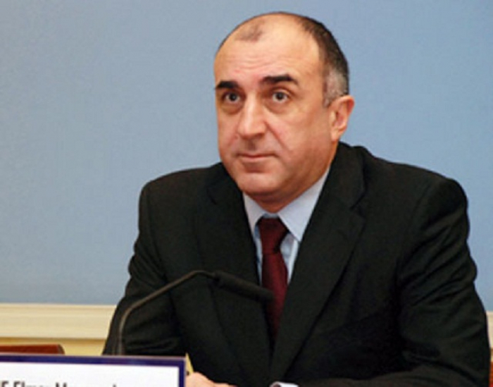 Elmar Mammadyarov:  Befreiung unserer Gebiete von der Besatzung ist die Hauptaufgabe unserer Diplomatie