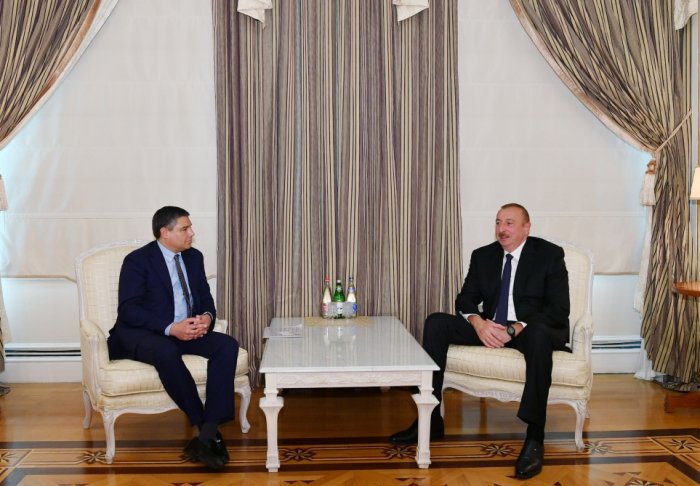 President Ilham Aliyev received chairman and CEO of Baker Hughes, a GE company -UPDATED
