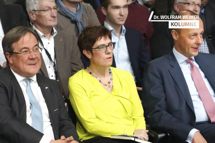 Wer wird Kanzlerkandidat der CDU?