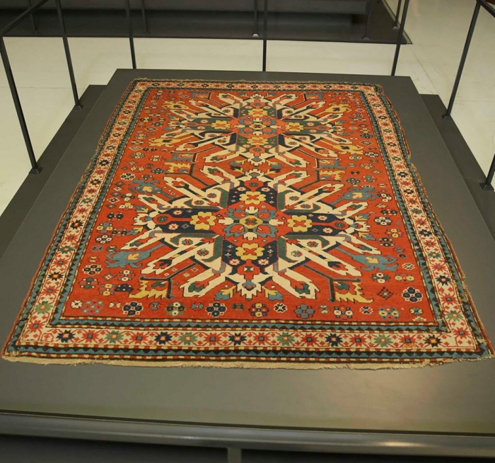 Armenians attempt to appropriate Azerbaijani carpets on display at Louvre Museum