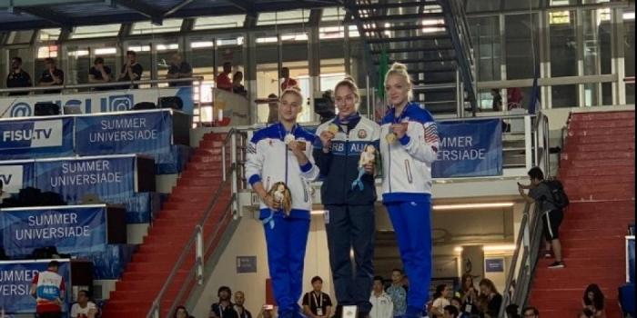 Azerbaijani gymnast claims gold at 30th Summer Universiade