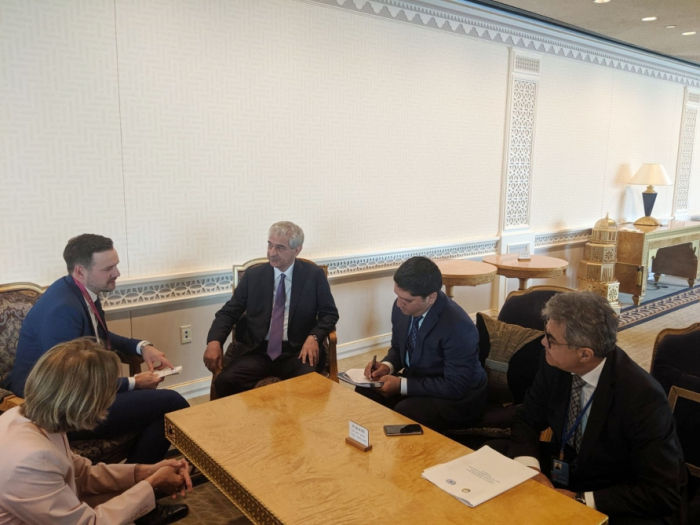 Azerbaijan, Norway, Israel discuss prospects for developing relations