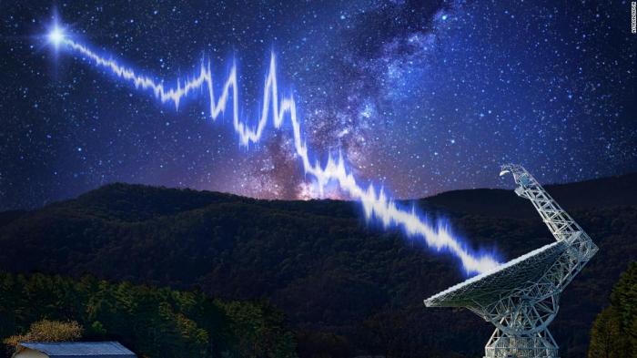 Fast radio burst came from galaxy   7.9 billion light-years away