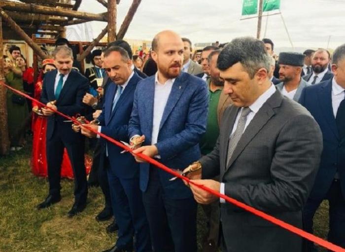 Türkiyə prezidentinin oğlu Gədəbəyə gəlib - FOTO