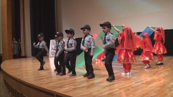 DİN-in 2 saylı uşaq bağçasında Polis Günü qeyd edilib - Video