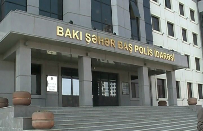 Bakı polisi küçə ticarətçilərinə müraciət etdi