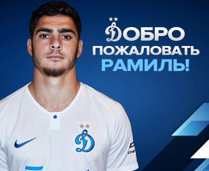 """Azərbaycanlı futbolçu """"Dinamo"""" klubuna keçib"""