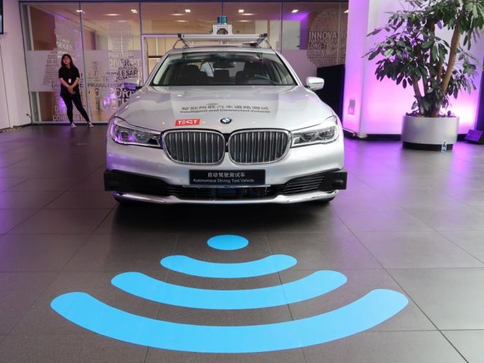 BMW et Tencent s