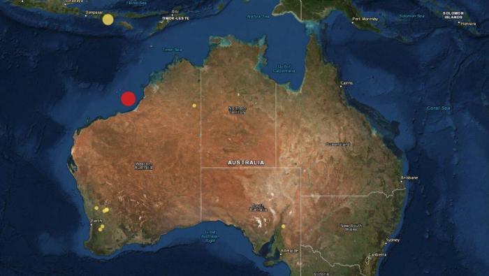Fort séisme au large du nord-ouest de l