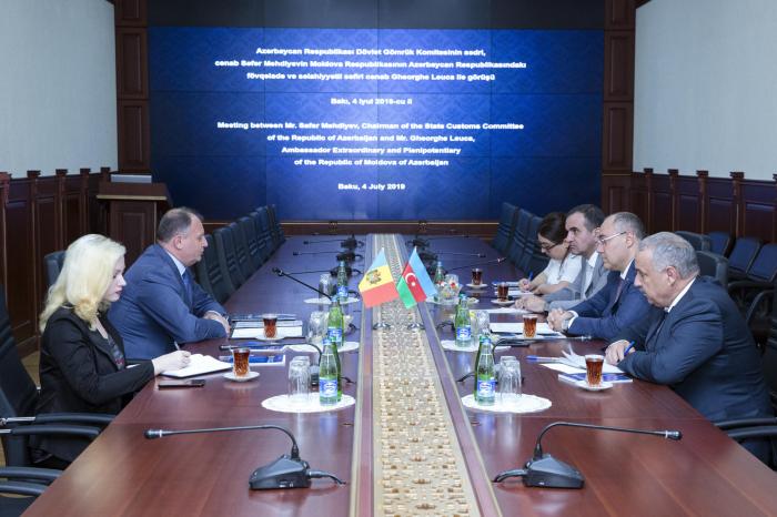 DGK sədri Moldova səfiri ilə görüşüb