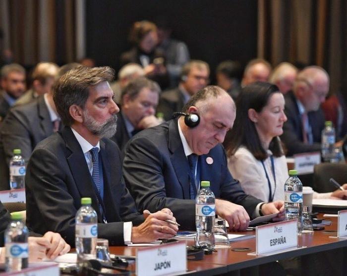 Məmmədyarov toplantıda Qarabağdan danışdı