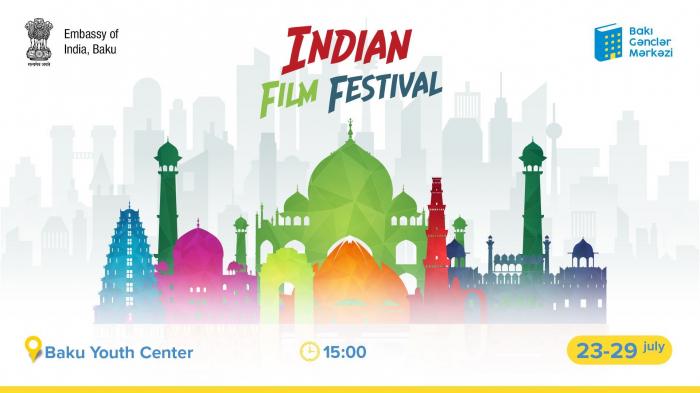 Bakou accueillera un Festival des films indiens